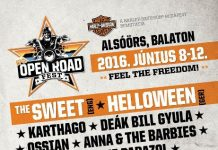 open road fest flyer