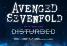 avenged sevenfold flyer 20160809