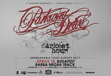 parkway drive flyer 20161102