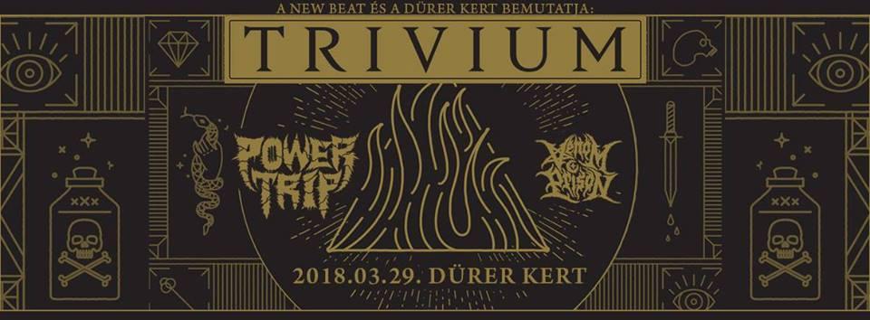 Trivium – Jövő márciusban a Dürer Kertben mutatják be az idei esztendő egyik legsikeresebb metal albumát