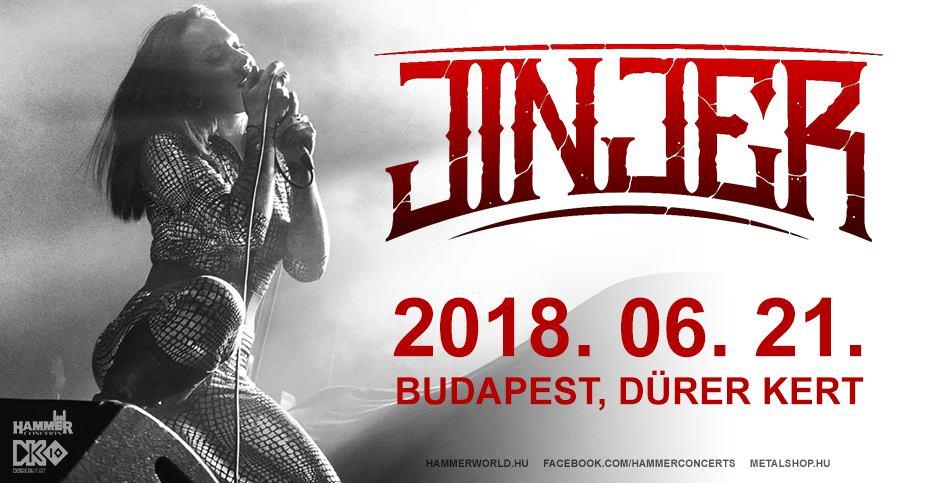 Jinjer – Június 21-én a Dürer Kertben lép fel Ukrajna egyik legígéretesebb bandája