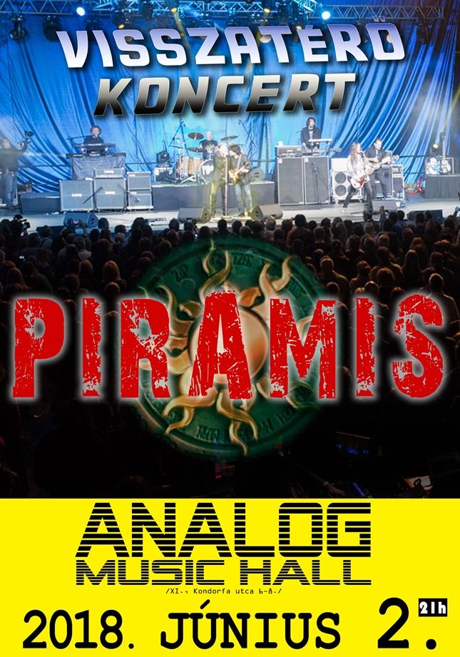 Piramis – Csoki már jobban van, jön a visszatérő koncert
