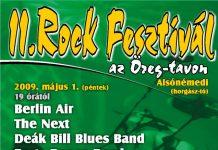 II. Rockfesztivál az Öreg tavon