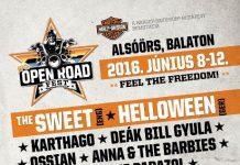 open road fest flyer